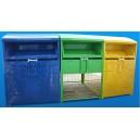 Huse metalice pentru containere colectare selectiva