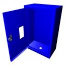 Cutie de protectie pentru apometru verticala cu vizor